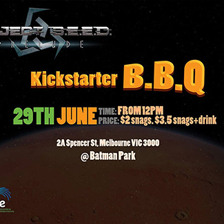 The BBQ to kick start our Project S.E.E.D. Prelude promotional campaign