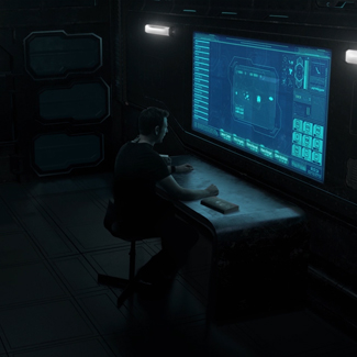 Showing off a nearly completed shot of Nico's Chapter for Project S.E.E.D. Prelude